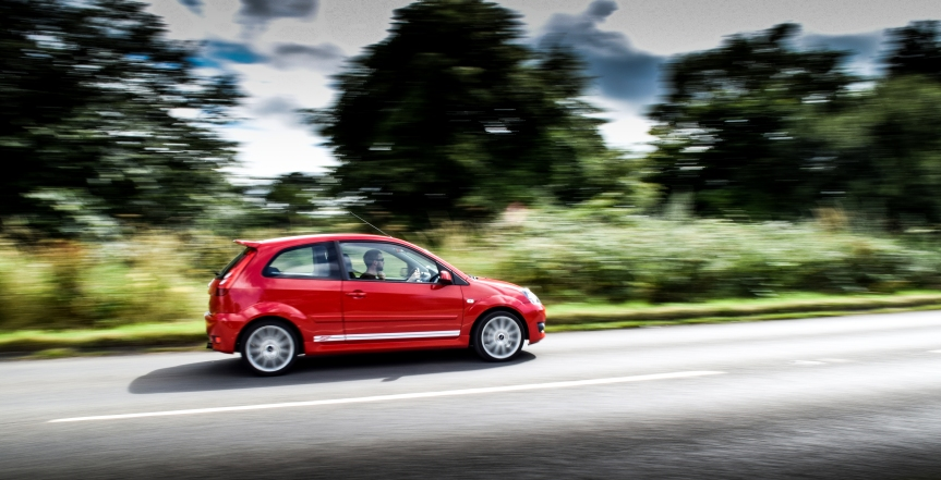 Fun and frolics with Ford's Fiesta ST