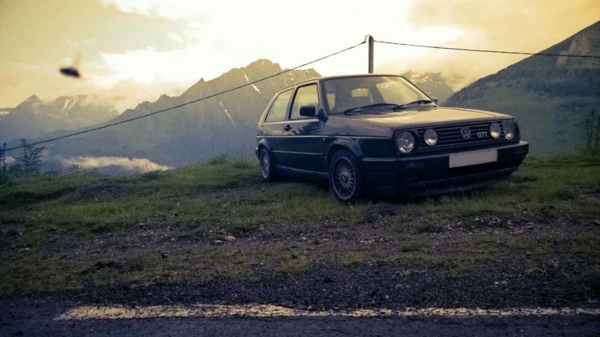 2500 mile adventure in a Mk2 Golf